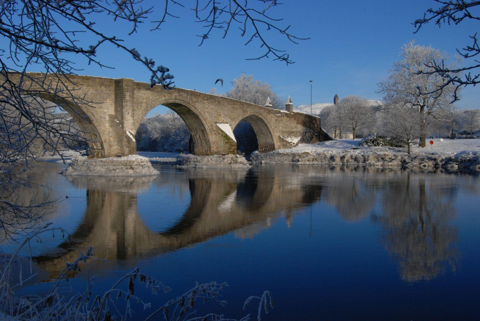 Stirling Bridge in Winter